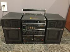 Rare Sony Integrated Amplifier Boombox FH-11w + Amp TA-118W, Tuner ST-118