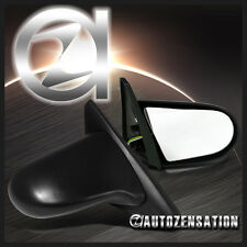 Fit 96-00 Honda Civic 2/3DR Coupe Hatchback ABS JDM Black Spoon Power Mirrors