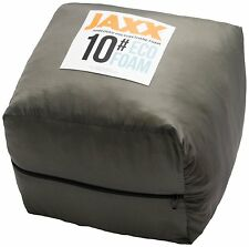 Jaxx Premium Grade Shredded Foam - Refill for Pillows, Bean Bags, Dog Beds, 10LB