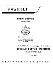 FSI SWAHILI BASIC COURSE DISK-MP3+PDF BOOKS+BONUS