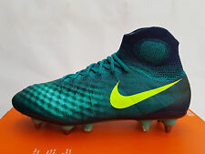 "Nike Magista Obra II SG-Pro ""Floodlights"" Rio Teal (844596 375) Size UK 7 EU 41"