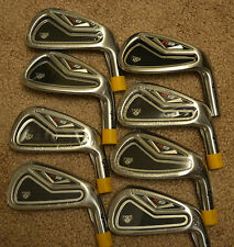 NEW TaylorMade R9 TP IRONS 2-PW TOUR ISSUE C STAMP HEADS