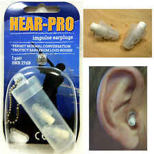 SONIC HEARING PROTECTION / EAR PLUGS / DEFENDERS - SHOOTING RIFLE SHOTGUN CLAY's