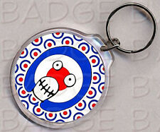 MIGHTY BOOSH round keyring - KING OF THE MODS !