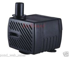 New Jebao PP300LV Submersible Fountain Pump 40gph Hydroponic Cat/Dog Water Bowl