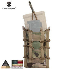 Double Magazine Pouch EMERSON MAG Carrier Bag Hunting Cordura MultiCam EM6346H