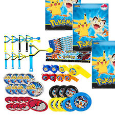 Pokemon Party Favors - 56 Pc Mega Mix Pack w Bags -Great Party Favors / Piñata
