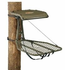 New Millennium M50 Steel Hang On Treestand Bow Gun & Full Body Safety Harness