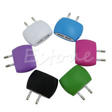 2 Ports EU Plug USB Wall Travel AC Charger Adapter For Samsung Galaxy iPhone GPS