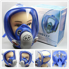For 3M 6800 Silicone Gas Mask Full Face Facepiece Respirator Painting Spraying