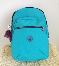 New Kipling Seoul Large Backpack with Laptop Protection Cool Turquoise