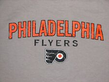 PHILADELPHIA FLYERS NHL HOCKEY TEAM SHIRT AUTHENTIC LARGE L PHILLY RARE RETRO