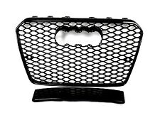 FRONT GRILL Look RS5 BLACK FOR AUDI A5 8T 2012-16 Wabengrill Grille Stoßstange *