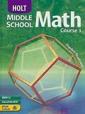 Middle School Math: Course 3-ExLibrary