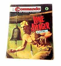 DC Thompson 1960's -70's Early Commando Comic Book no.466, War Military Army