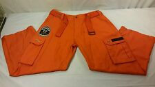 Mens Regal Wear Special Forces Orange Jump Suit Cargo Pants Combat AR2461 Sz 36