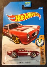 2016 Hot Wheels CUSTOM Super 73 Pontiac Firebird with Real Riders