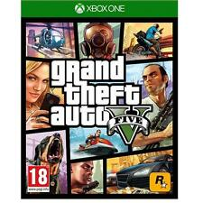 Grand theft auto v/gta v 5 pour XBOX ONE driving game new & sealed