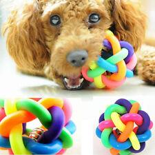 Juguete mordedor bola de goma varios colores para tu perro mascota cachorro