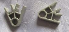 K'NEX SPARES - 2 WAY LIGHT GREY CONNECTORS - KNEX PARTS