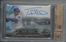 TRAVIS D'ARNAUD 2014 TOPPS TRIBUTE TRADITIONS AUTO #D /99 BGS 10 w 10 AU POP 1/1