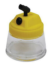 3 IN 1 AIRBRUSH CLEANING POT AND AIRBRUSH STAND