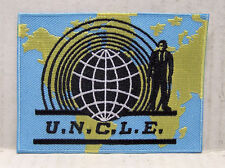 "UNCLE Man from Uncle Logo 3.75"" Embroidered Patch (MUPA-001)"