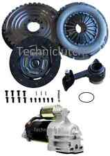 SOLID FLYWHEEL, CLUTCH, CSC, STARTER WITH BOLTS FOR FORD MONDEO 2.0 TDDI 5 SPEED