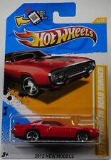 MOPAR 2012 Hot Wheels New Models '71 Plymouth Road Runner Red #6/247.
