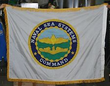 Naval Sea Systems Command Flag w/ Fringe - GI Issue