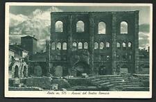 Aosta : Avanzi del Teatro Romano - viaggiata nel 1949