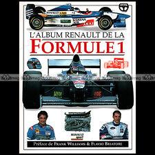 ALBUM RENAULT DE LA FORMULE 1 (1997) Pour absolument tout savoir sur la F1 !!!