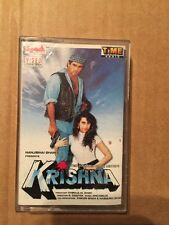 Krishna - Rare Bollywood Hindi Cassette - Time Audio Spark 1st