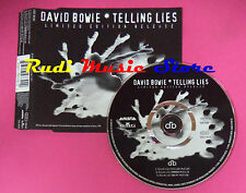 CD singolo David Bowie Telling Lies 74321 397392 promo europe no mc vhs lp(S20)