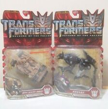 TransFormers Movie 09 Deep Desert Brawl Tank Ravage Deluxe G1 lot ROTF MOSC AOE