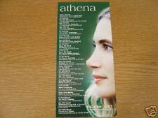 Flyer: Athena - Rare 2007 UK Tour