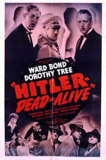 Hitler – Dead or Alive, Old Classic movie 1942 on DVD-R