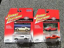 1971 CHEVY CAMARO RS/Z28 & 1970 1/2 CAMARO RS/Z28  JOHNNY LIGHTNING CAMARO  1:64