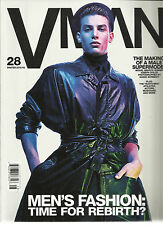 VMAN 28, MEN'S FASHION: TIME FOR REBIRTH ? WINTER, 2012 /2013 ( THE MAKING OF A