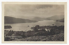 UK England Windermere and Bowness Bay G.B. Abraham Real Photo Postcard RPPC