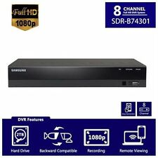 Samsung SDR-B74301 8 Channel Full HD 1080P cctv DVR with 2TB Hard Drive New!!!