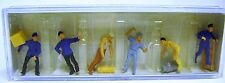 Preiser 14016 : DELIVERY MEN WITH LOADS : HO 1:87 Scale : NEW(UNUSED STOCK)