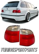 REAR TAIL LIGHTS RED-WHITE FOR BMW E39 95-00 SERIES 5 TOURING FANALE POSTERIORE