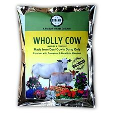 Casa De Amor Wholly Cow Manure & Compost Made From Desi Cows' Dung Only, 1.9 Kg