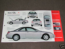 1995-1998 ACURA CL Car SPEC SHEET BROCHURE PHOTO BOOKLET