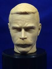 "1:6  RESIN HEAD SCULPT-FRANCO NERO-WWII RUSSIAN ""NIKOLI"" FORCE 10 FROM NAVARONE"