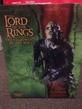 Lord of the Rings Sideshow Orc Overseer Figure Mint Condition