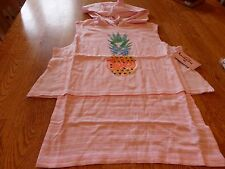 "NWT! ""JUICY COUTURE"" GIRL'S PINK PINEAPPLE HOODY TOP SIZE M (10-12)  $32."