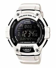 Casio Solar Digital Watch, World Time, 120-Lap, 100 Meter, 5 Alarms, WS220C-7BV
