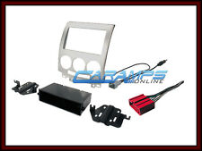 NEW CAR STEREO RADIO KIT DASH INSTALLATION MOUNTING TRIM BEZEL W/ WIRING HARNESS